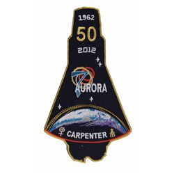 MA-7: Scott Carpenter Signed Patch