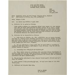 MA-8: Wally Schirra's 1959 NASA Orders