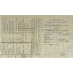 MA-8: Wally Schirra's Naval Academy Transcript Report Card