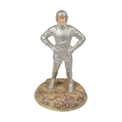 Astronaut on the Moon Early 1960s Figurine