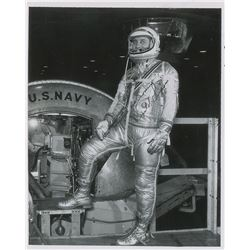 Gus Grissom Mercury Signed Photograph
