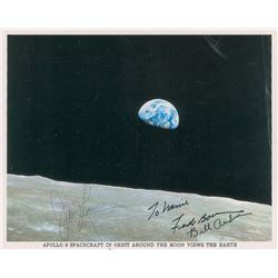 Apollo 8 Signed Photograph