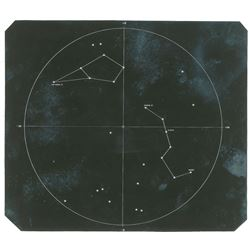 Jim McDivitt's Apollo 9 Flown Star Chart