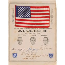 Apollo 10 Flown Flag