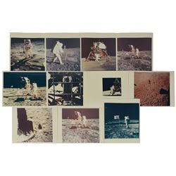 Apollo 11 Collection of (11) Vintage Photographs