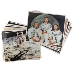Apollo 11 Set of Oversized Photos