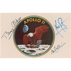 Apollo 11 Signed Postcard