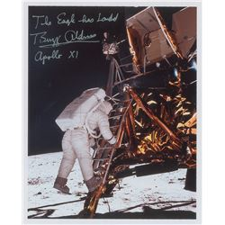 Buzz Aldrin Signed Photograph