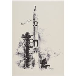 Michael Collins Signed Lithograph
