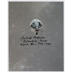 Michael Collins Signed Photograph