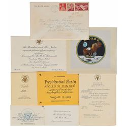 Richard Nixon Apollo 11 Celebratory Dinner Collection