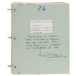 Alan Bean's Apollo 12 LM Training Manual