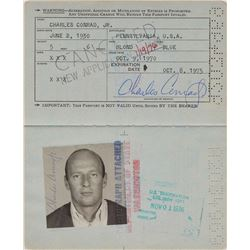 Charles Conrad's Signed Passport
