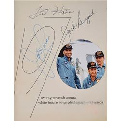 Apollo 13 Signed Program