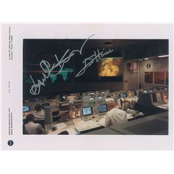 Fred Haise and Gene Kranz Apollo 13 Signed Photograph