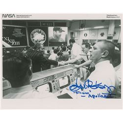 Gene Kranz Apollo 13 Signed Photograph