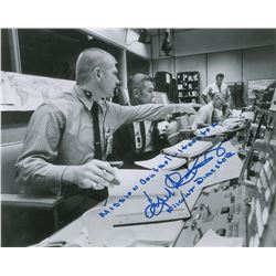 Gene Kranz Apollo 11 Signed Photograph