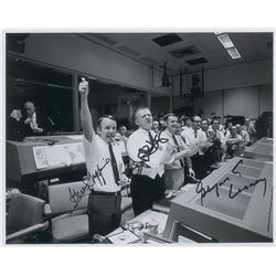 Mission Control Apollo 13 Signed Photograph