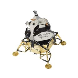 Edgar Mitchell Signed Lunar Excursion Module