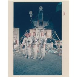 Apollo 15 Signed Photograph