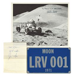 Apollo 15 Collection of Items