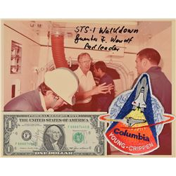 STS-1: Young and Wendt Pair of Signed Items