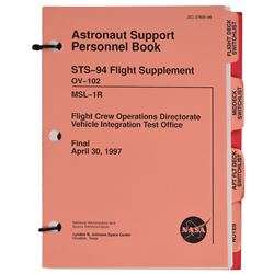STS–94 Astronaut Support Personnel Book