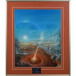 Jovian Impact Painting by Don Dixon