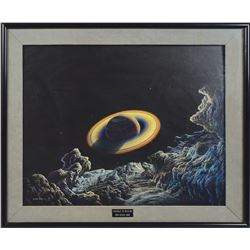 Portrait of Saturn Painting by Don Dixon