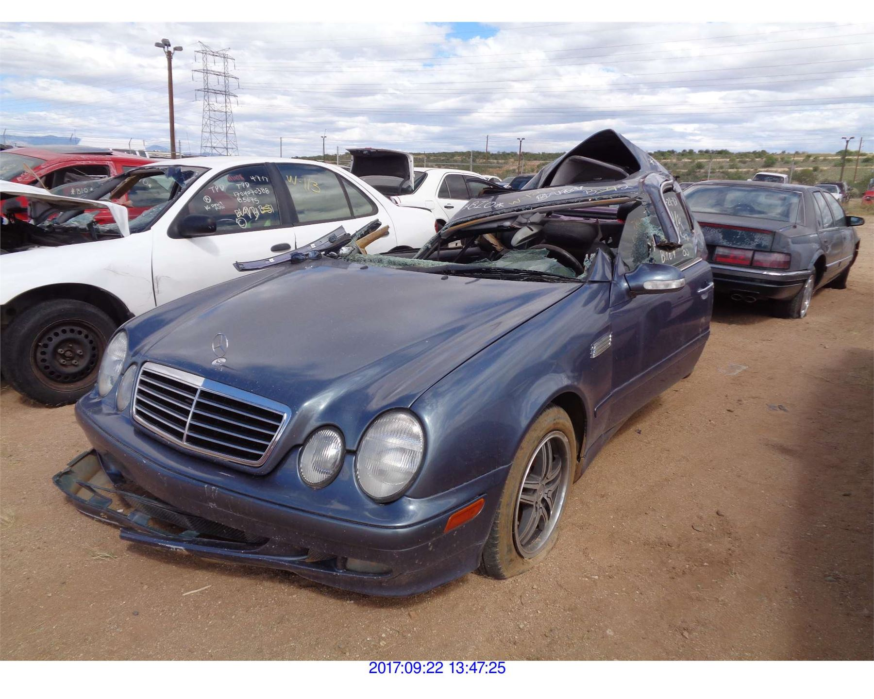 2000 Mercedes Benz C Class Restored Salvage Rod