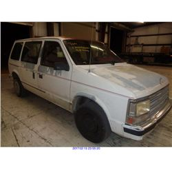 1989 - PLYMOUTH VOYAGER