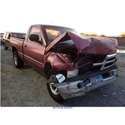 2001 - DODGE RAM 1500 // SALVAGE TITLE