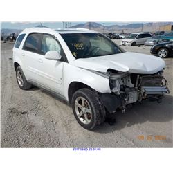2007 - CHEVROLET EQUINOX // SALVAGE TITLE