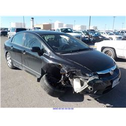 2009 - HONDA CIVIC// REBUILT SALVAGE