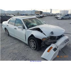 2003 - MITSUBISHI DIAMANTE // SALVAGE TITLE