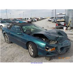 2000 - CHEVROLET CAMARO // SALVAGE TITLE