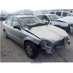 2000 - HONDA CIVIC // SALVAGE TITLE
