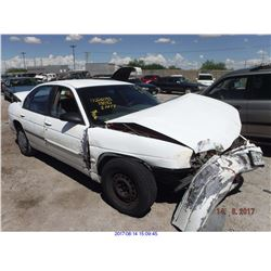 2001 - CHEVROLET LUMINA//REBUILT SALVAGE