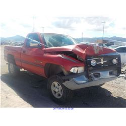 1995 - DODGE RAM 1500 // SALVAGE TITLE