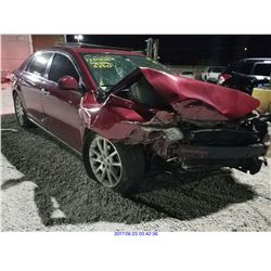 2008 - CHEVROLET MALIBU // SALVAGE TITLE