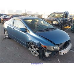 2008 - HONDA CIVIC EX // SALVAGE TITLE