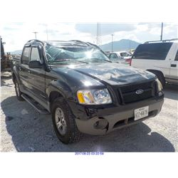 2002 - FORD EXPLORER // NON-REPAIRABLE