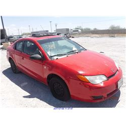 2006 - SATURN ION//REBUILT SALVAGE