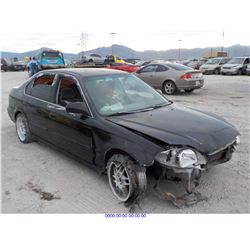1997 - HONDA CIVIC // SALVAGE TITLE