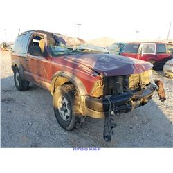 1998 - CHEVROLET BLAZER // NON-REPAIRABLE