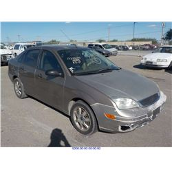 2005 - FORD FOCUS//REBUILT SALVAGE