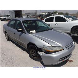2001 - HONDA ACCORD