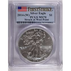 2014-(W) ASE PCGS MS70 FIRST STRIKE