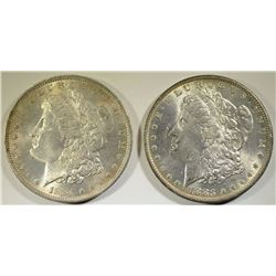 1883-O & 1884-O MORGAN DOLLARS CHOICE BU+