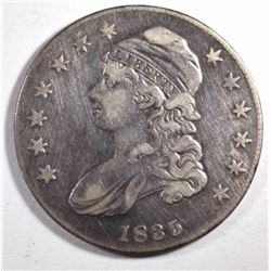 1835 CAPPED BUST HALF DOLLAR, FINE+